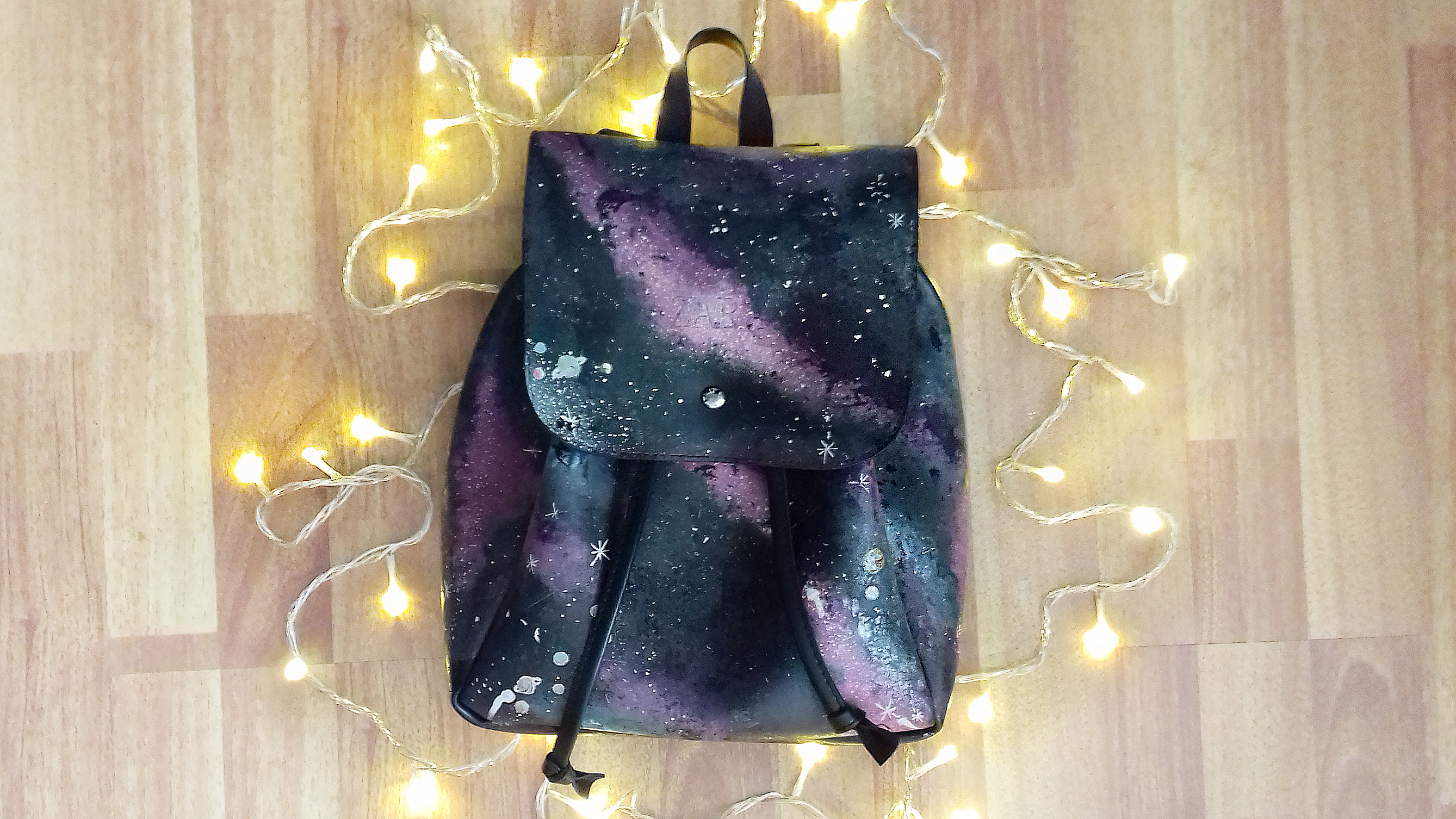 Picture of DIY Amazing Galaxy Backpack (my Design)