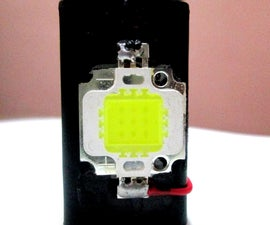 9 Volt Rechargeable Mini MagicMarilia Led Flash-light  (awesome blinding 600 lumens power in your palm)