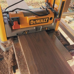 Thicknessing and Surfacing the Wood
