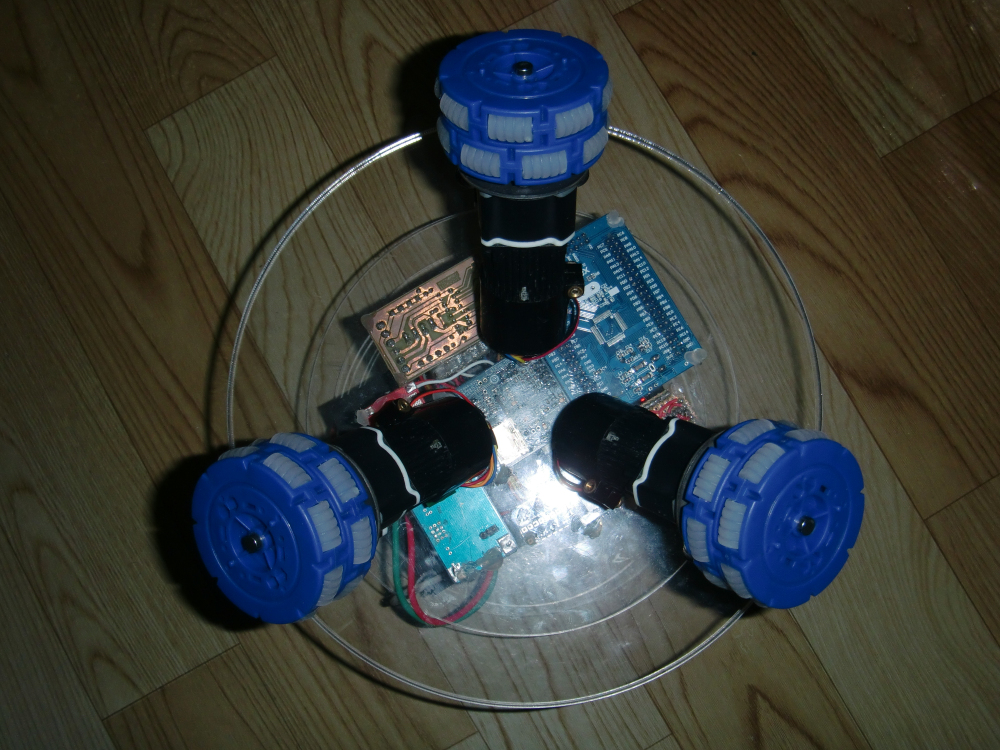 Picture of Add Another Three Omni-Directional Wheels