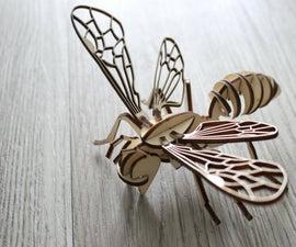 Laser Cutter- CUTTING Bumblebee