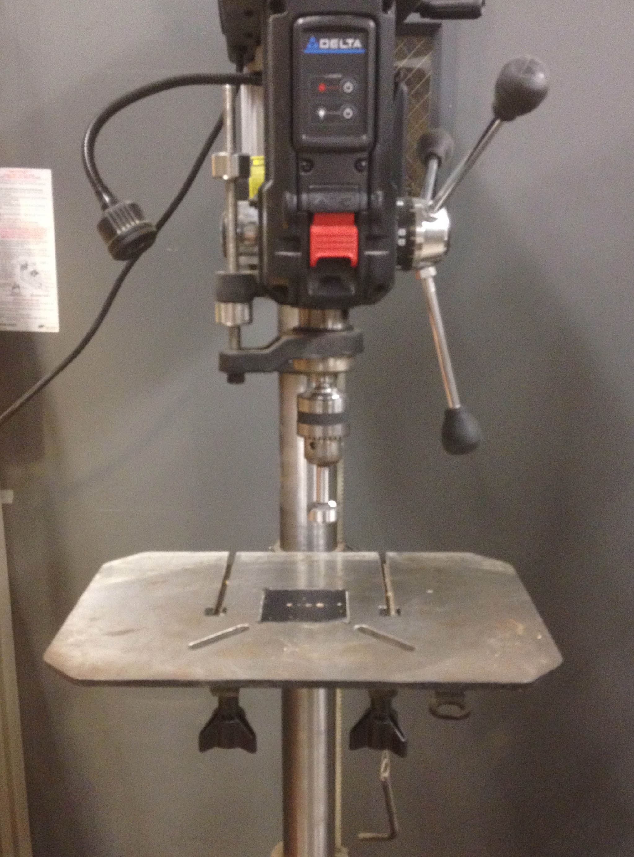 Picture of Set Up the Drill Press