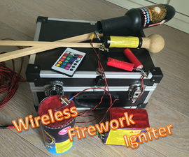 Wireless firework igniter