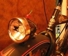 Bicycle 3W Led Retro Headlight