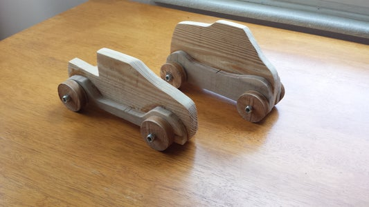 Pallet Wood Derby Cars (almost Free)