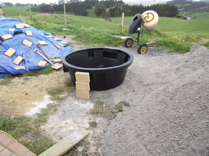 Picture of Position and Concrete Base