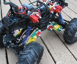 HPI Crawler King Knex Mods with Video!