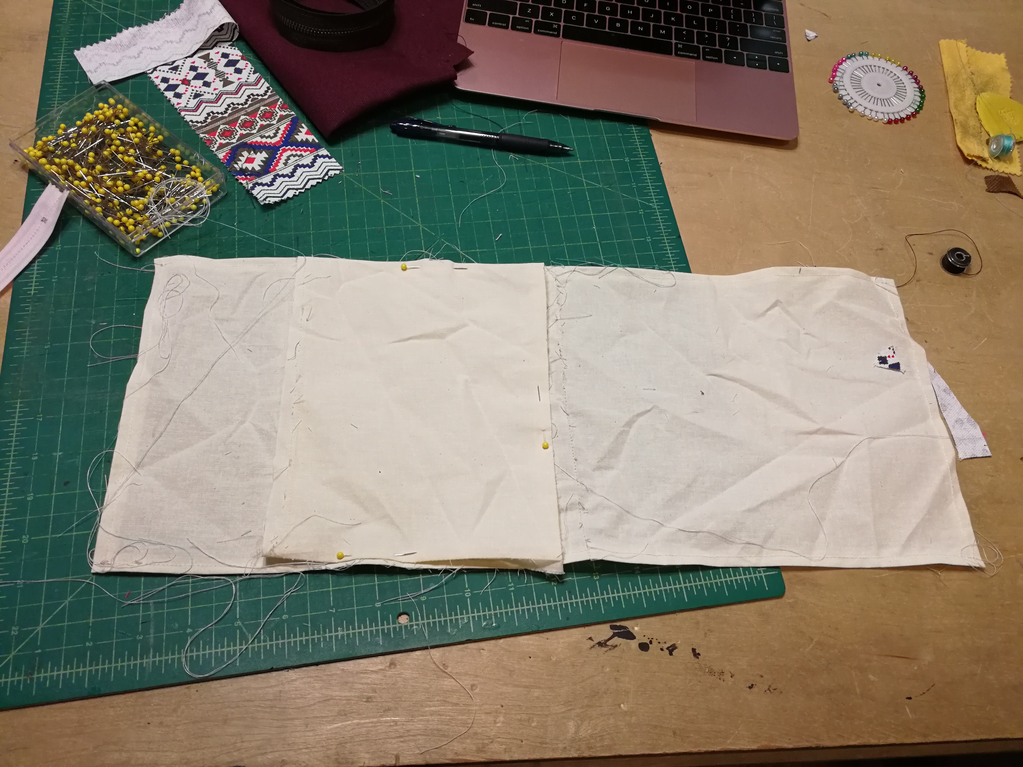 Picture of Topstitch Pouch