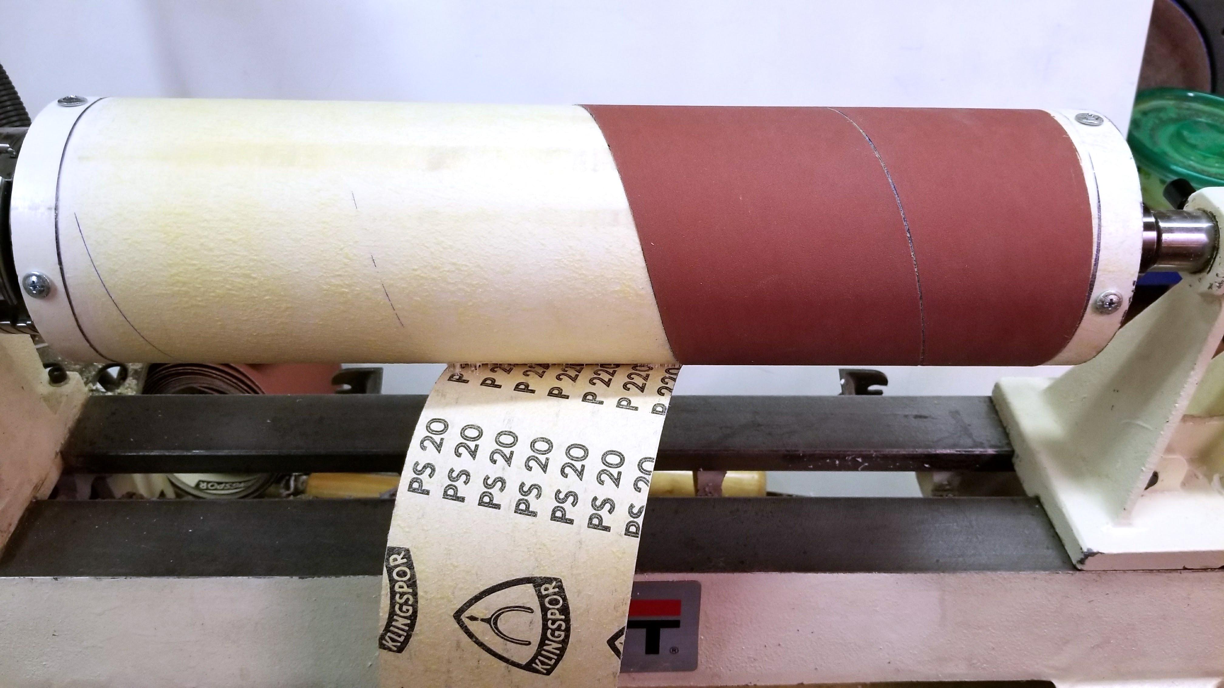 Picture of Attach Sandpaper