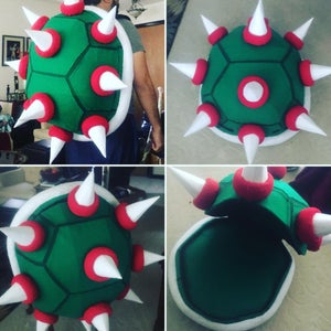 "How to Build a Super Mario: ""Bowser"" Backpack"
