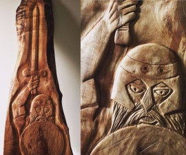 Carving the Celtic Warrior (Handtools Only)