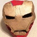 Foam Iron Man Helmet (cheap version)