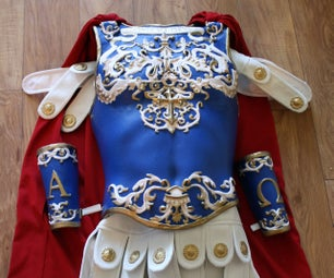 Angelic Armour: Worbla Breastplate and Fabric Gambeson
