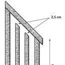 Build a triple chamber bat house