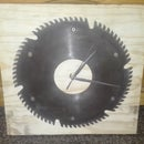 Upcycled Table Saw Clock