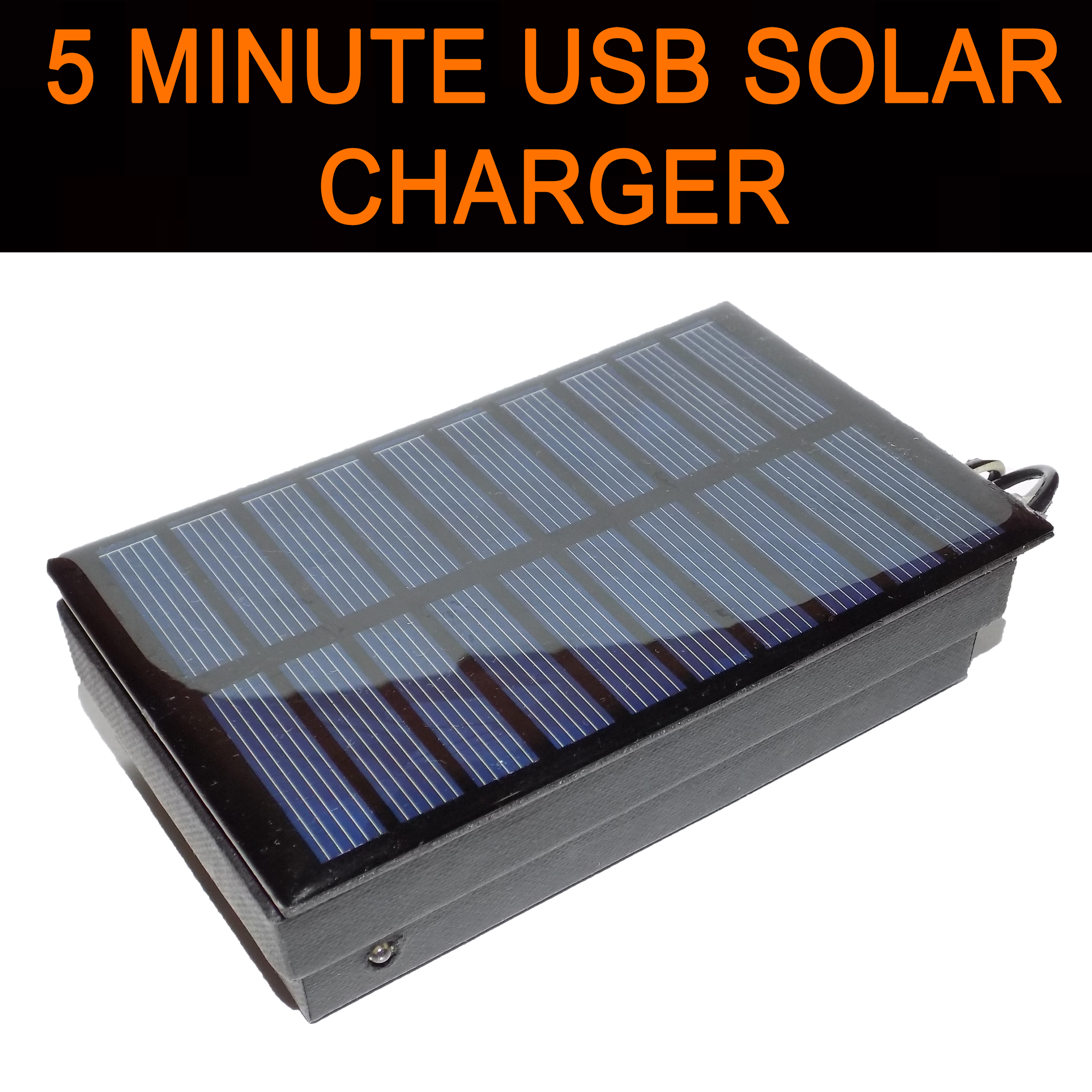Picture of Easy 5 Minutes USB Solar Charger/Survival USB Charger