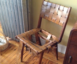 Restoring an Old Woven Chair Like New!