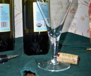 Wine Cork Wine Charms