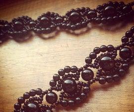 Tutorial: Vintage beaded bracelet