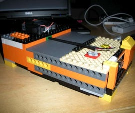 Lego Hard Drive Case Mod