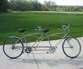 Complete Tandem Bike Build
