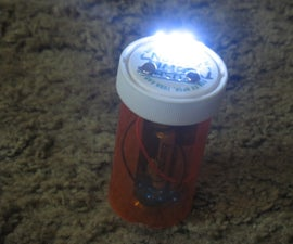 Medicine Bottle LED Flashlight