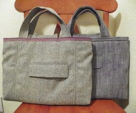 Lap Top bag from Suit coat