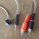 DIY Audio Signal Patch Cable For Two Amplifiers