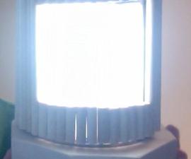 Wooden Sabbath Lamp