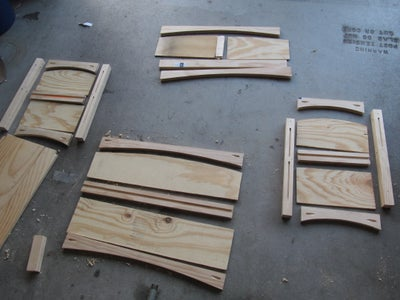 Dismantle for Sanding