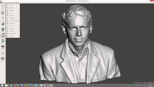 Some 3D Scanning Results and 3d Prints