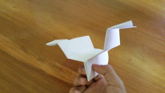 How to Make a Zigzag Airplane