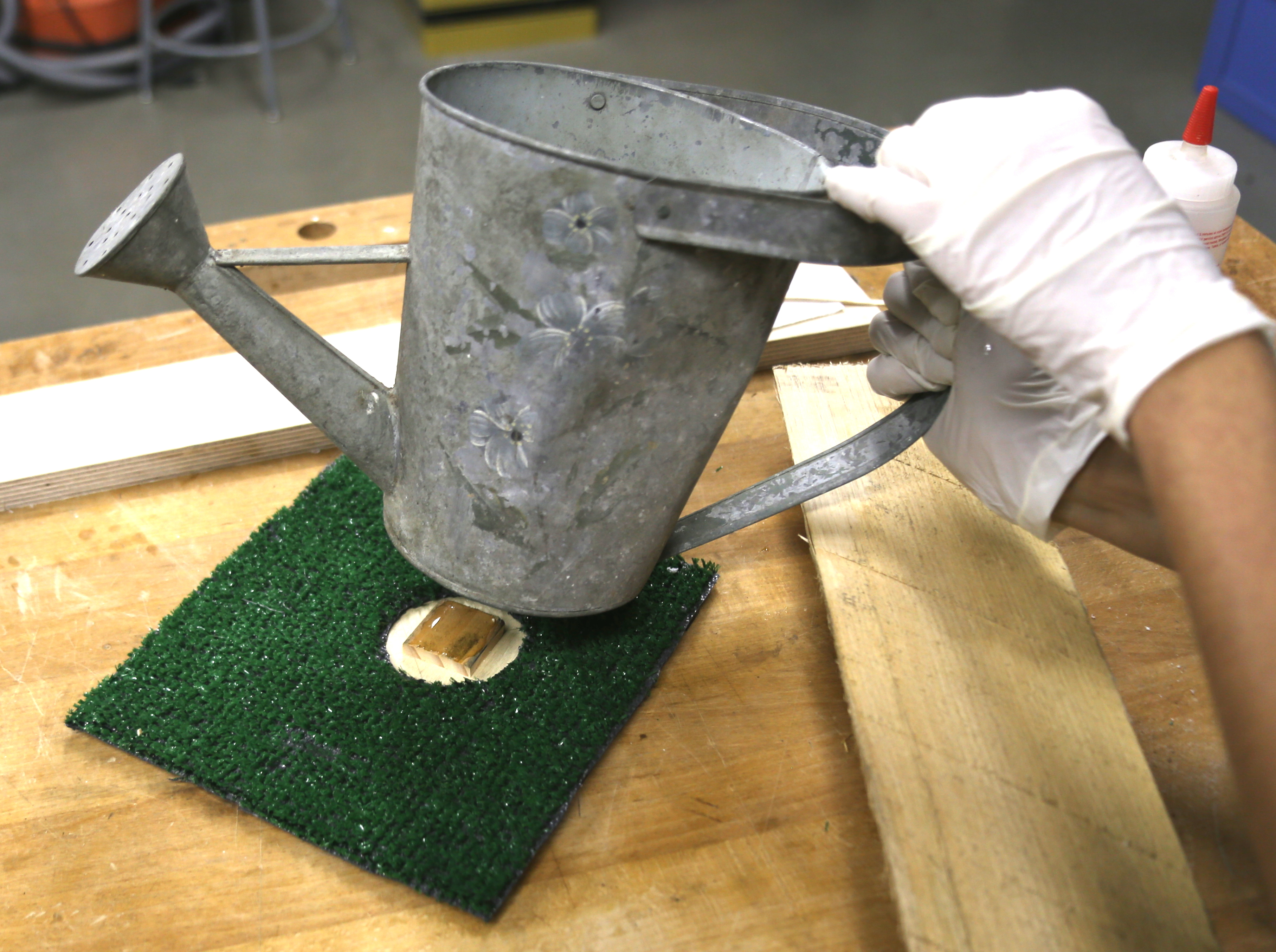 Picture of Attach the Grass and Watering Pail