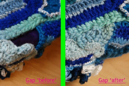 Sewing Up the Edges and Closing Any Gaps: