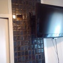 Hide your tv wires in the wall