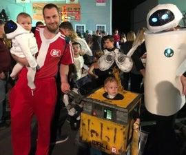 Wall E Family Costume