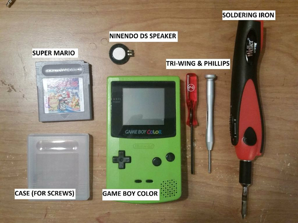 Picture of Game Boy Color Upgrade Speaker DS