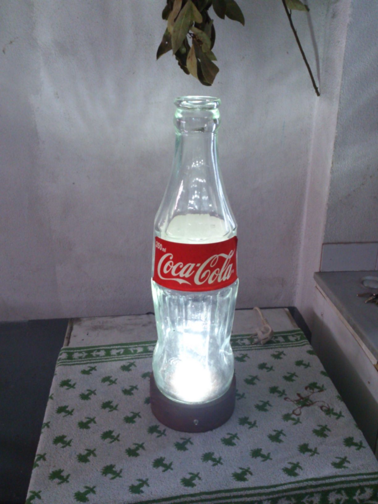 Picture of Huge Nuka-Cola Style Lamp.