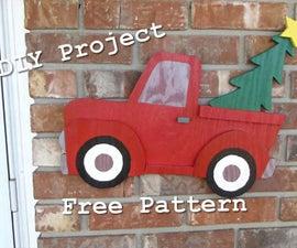 DIY Christmas Truck