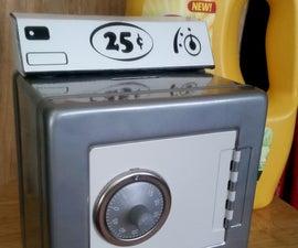Laundry Quarter Bank Safe