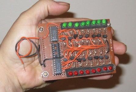 Pocket 256 Bit Logic Analyzer