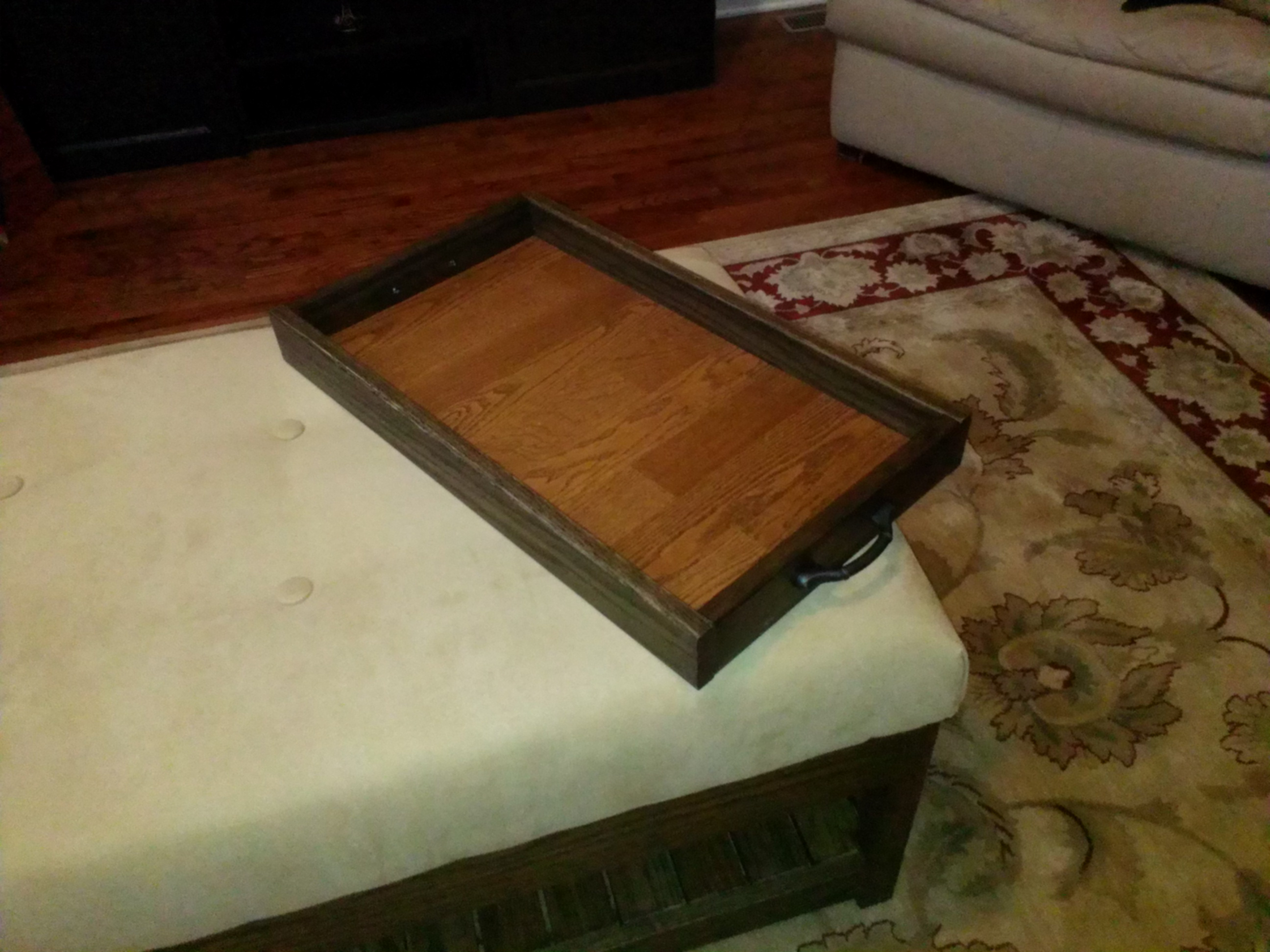 Picture of Wooden Tray From Wood Scraps