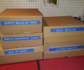 OCD Friendly Cardboard Box Hack