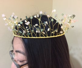 Bead and Wire Crown