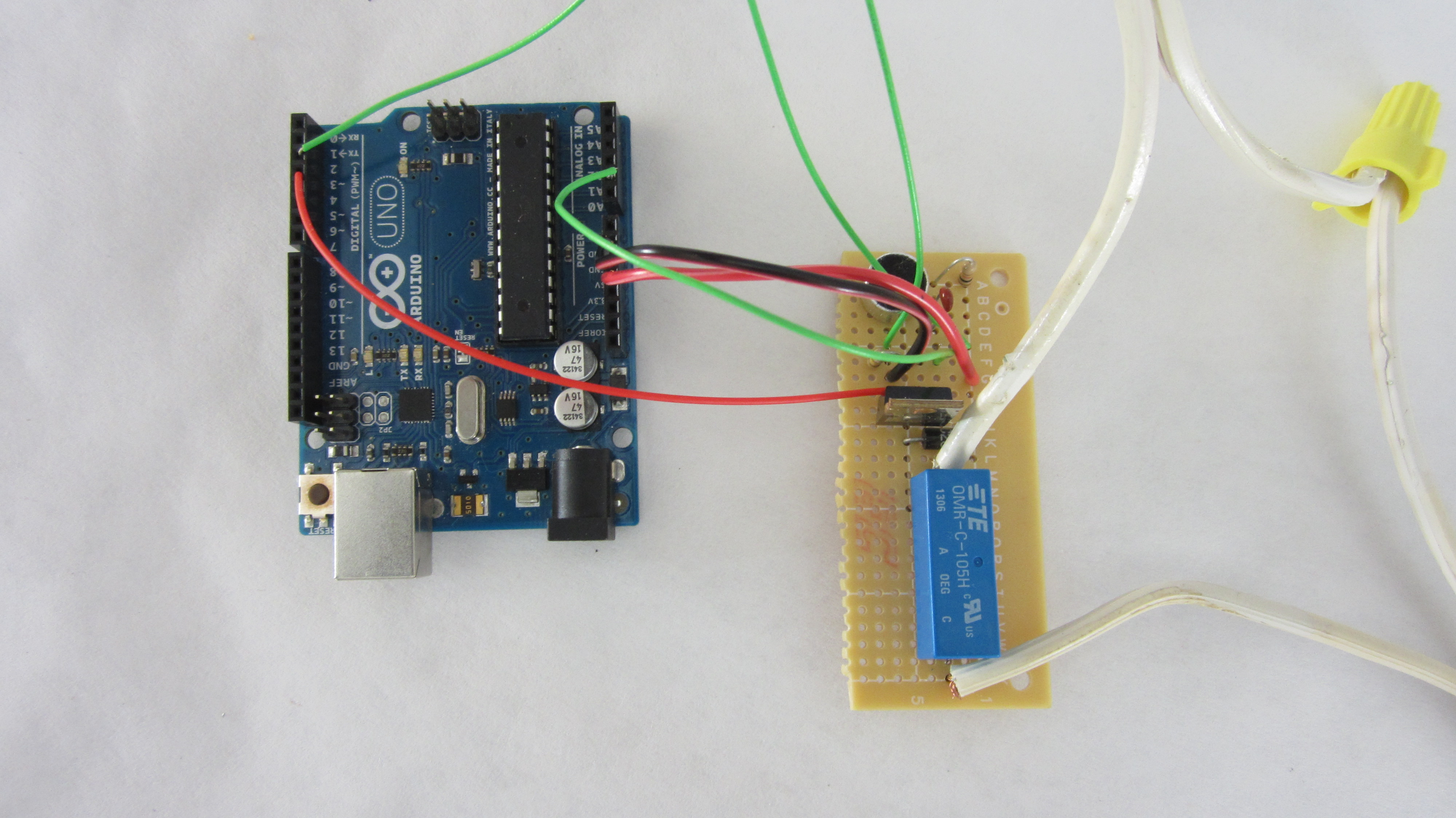 Picture of Solder the Circuit Onto a Printed Circuit Board