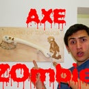 How to make zombie axe with bike brakes