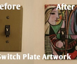 Switch Plate Artwork