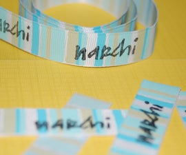 Fabric Clothing Tags