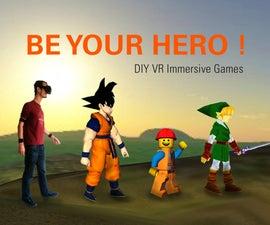 Build your VR ZELDA game with BeYourHero!