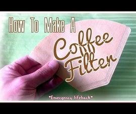 DIY Coffee Filter